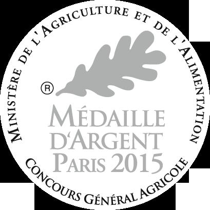 Concours General Agricole - Medaille d'argent Paris 2015